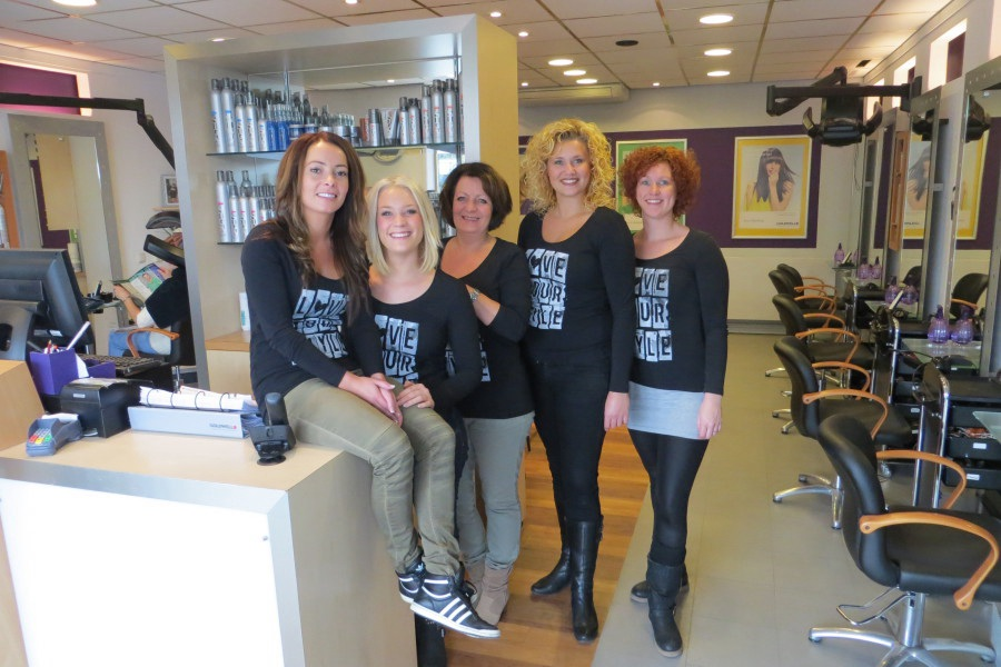 Ons hairstyling team
